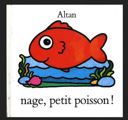 Nage petit poisson les petits z bres - Le petit poisson rouge maternelle ...