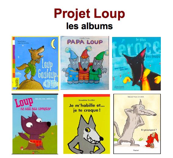 Albums projet loup