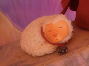 Le petit mouton dort